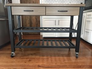 Kitchen cart/ entry way table for Sale in Columbus, OH