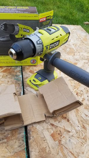 Ryobi 18-Volt ONE+ Cordless 1/2 in. Hammer Drill/Driver (Tool Only) with Handle for Sale in Snohomish, WA