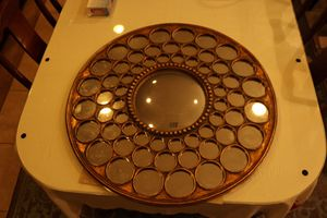 Uttermost Circular Mirror (ANTIQUE) for Sale in Henderson, NV