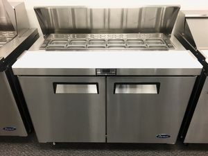 "Commercial 48"" refrigerated cold top salad prepping table cooler for Sale in Kent, WA"