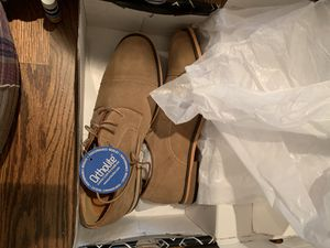 Men's size 10 new leather shoes for Sale in Chicago, IL