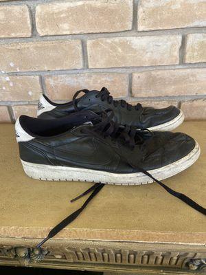 Nike Air Jordan 705329-010 Men's 1 Retro Low OG - Black - US 11 for Sale in Alamo, TX