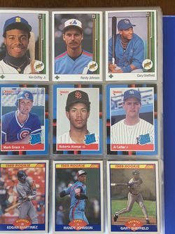 BASEBALL CARDS 80's & EARLY 90's / LOTS OF ROOKIES. for Sale in Portland,  OR