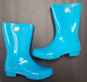 UGG Australia Sienna Women's Size 6 Blue Aster Pull On Rain Boots X21-169 for Sale in Paterson, NJ