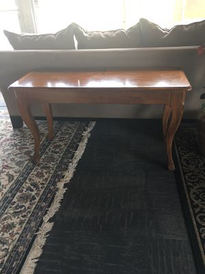 Wood console table by Guild Hall for Sale in Marietta, GA