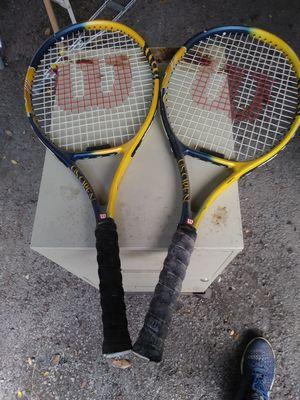 Wilson; US open tennis rackets for Sale in Dallas, TX