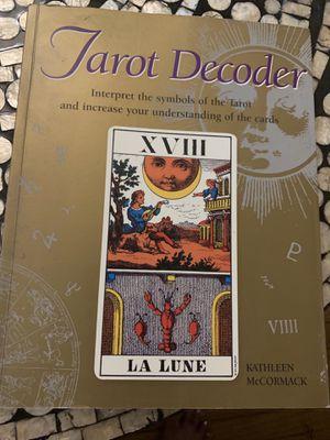 Tarot decoder book for Sale in Inglewood, CA