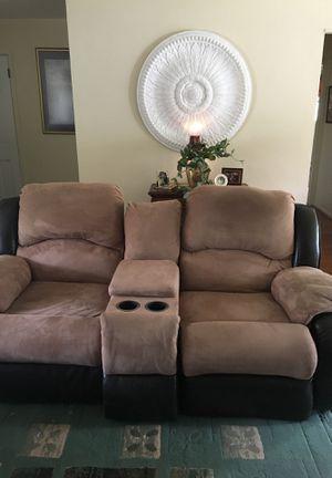 Loveseat recliner good shape for Sale in Prudenville, MI