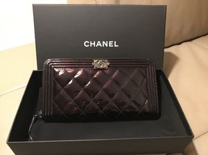 CHANEL Classic Gusset Long Flap Wallet Zipper for Sale in Columbia, SC