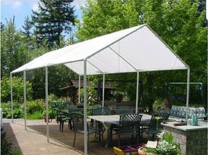 10'x20' White or Silver Heavy Duty Replacement Dry Tarp for Canopy Tent Carport Farm Shade New for Sale in Santa Ana, CA