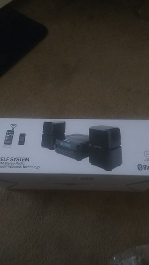 CD shelf system bundle AM/FM Stereo Radio And Bluetooth for Sale in Columbus, OH