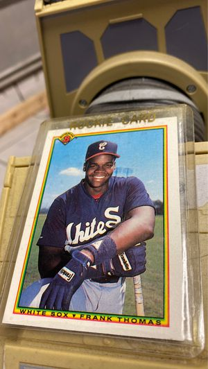 """1990 BOWMAN BASEBALL # 320 (HOF) FRANK THOMAS """"ROOKIE"""" CARD - WHITE SOX - NM/MT for Sale in Pflugerville, TX"""