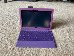 Microsoft Surface 2 with Purple Keyboard and Case for Sale in Southfield, MI