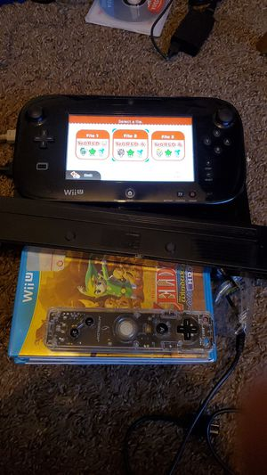 Wii u with 5 games for Sale in Bakersfield, CA