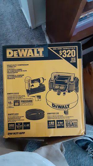 DeWalt heavy duty compressor combo kit for Sale in Anaheim, CA