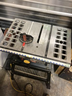 "Ryobi 10"" table saw for Sale in Puyallup, WA"