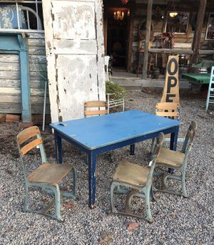Children's School Chairs and Play Table for Sale in Raleigh, NC