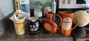 4 collectible decanters for Sale in Reisterstown, MD