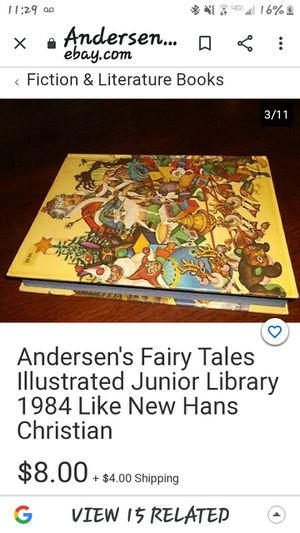 Andersens fairy tales book for Sale in Vidor, TX