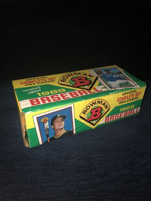 Bowman 1989 Baseball Cards for Sale in Phoenix, AZ