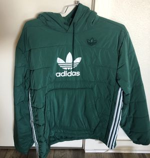Men's Adidas Originals Green Jacket Coat Size M for Sale in Portland, OR
