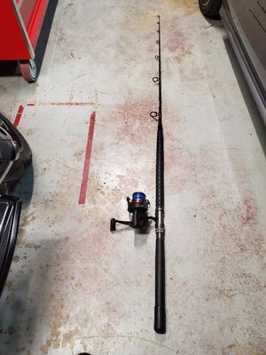 Coast Custom Classic Spinning Rod & Reel 20 - 40# 7 foot fishing pole for Sale in Fontana, CA