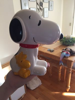 Snoopy Charlie Brown piggy bank for Sale in Rochester, NY
