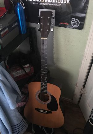 Guitar with the stand 150 for both for Sale in Abilene, TX