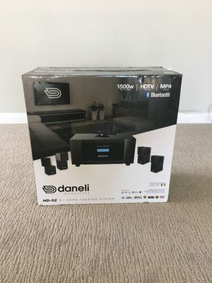 Daneli Acoustic l HD-52 Home Theater System (or best offer) for Sale in Sugar Land, TX