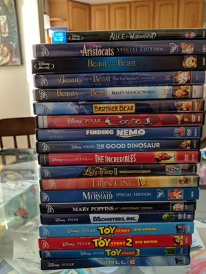 19-Movie Disney DVD Collection for Sale in Silver Spring, MD