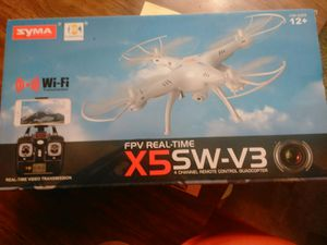 X5sw-v3 drone wifi compatible for Sale in Little Rock, AR