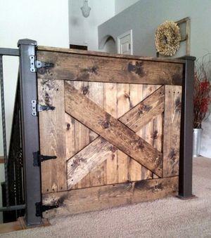 Rustic wood farmhouse barn door gates for Sale in Chandler, AZ