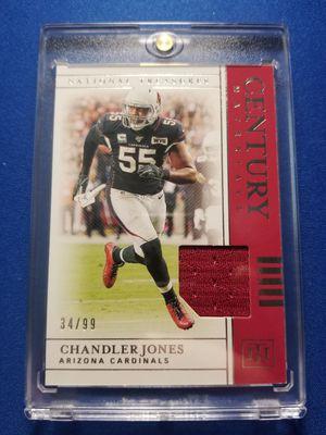 Panini Century Materials jersey card Chandler Jones /99!!! for Sale in Sun City, AZ