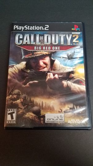 Call of Duty 2 Big Red One PS2 for Sale in Glendale, AZ