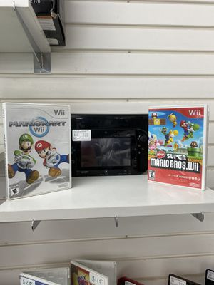 Nintendo Wii U with 2 games for Sale in Indianapolis, IN