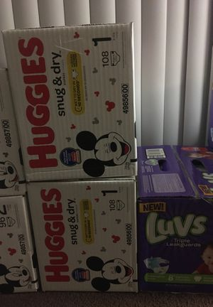 Diapers SIZES 1 - 4 for Sale in Columbus, OH