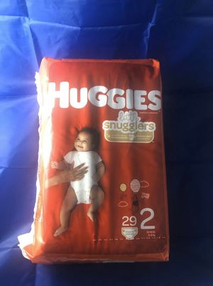 Huggies Little Snugglers Size 2 Diapers 29 ct. for Sale in Chesapeake, VA