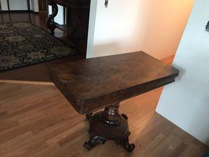 1890s Victorian flip Game Table. Rare for Sale in Carbonado, WA