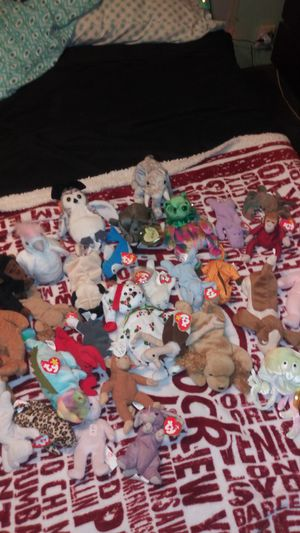31 Beanie Babies $25for all for Sale in Auburndale, FL