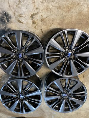 2020 wrx Rims 17 inch for Sale in Portland, OR