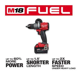 M18 FUEL 18-Volt Lithium-Ion Brushless Codless 1/2 in. Drill / Driver (Tool-Only) for Sale in Bonney Lake, WA