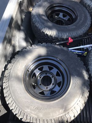 6 lug rims for Toyota Tacoma/tundra etc for Sale in Fremont, CA