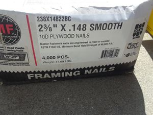 Dry wall Nails for SALE for Sale in Long Beach, CA