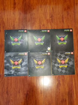LEGO Master Builder Academy: Designer Handbooks (Level 1 & 2, Books 1-6) for Sale in San Lorenzo, CA