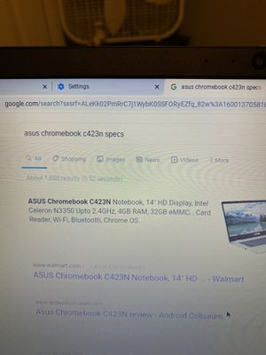 Asus chromebook 14 for Sale in Lancaster, PA