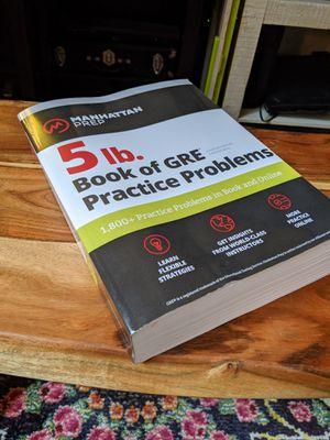 Manhattan Prep GRE study book - unused for Sale in Richmond, VA
