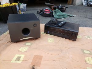Old school surround sound/ stereo system for Sale in Salt Lake City, UT