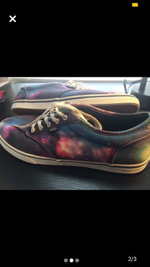 VANS Galaxy Print Women's size 9.5 for Sale in Utica, NY