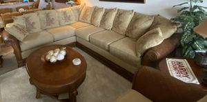 Craftmaster Sectional Sofa with Oversized Chair for Sale in Cocoa, FL