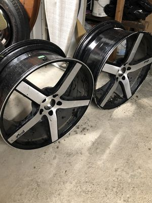 """20"""" Niche Rims only (2 wheels only) for Sale in East Haven, CT"""